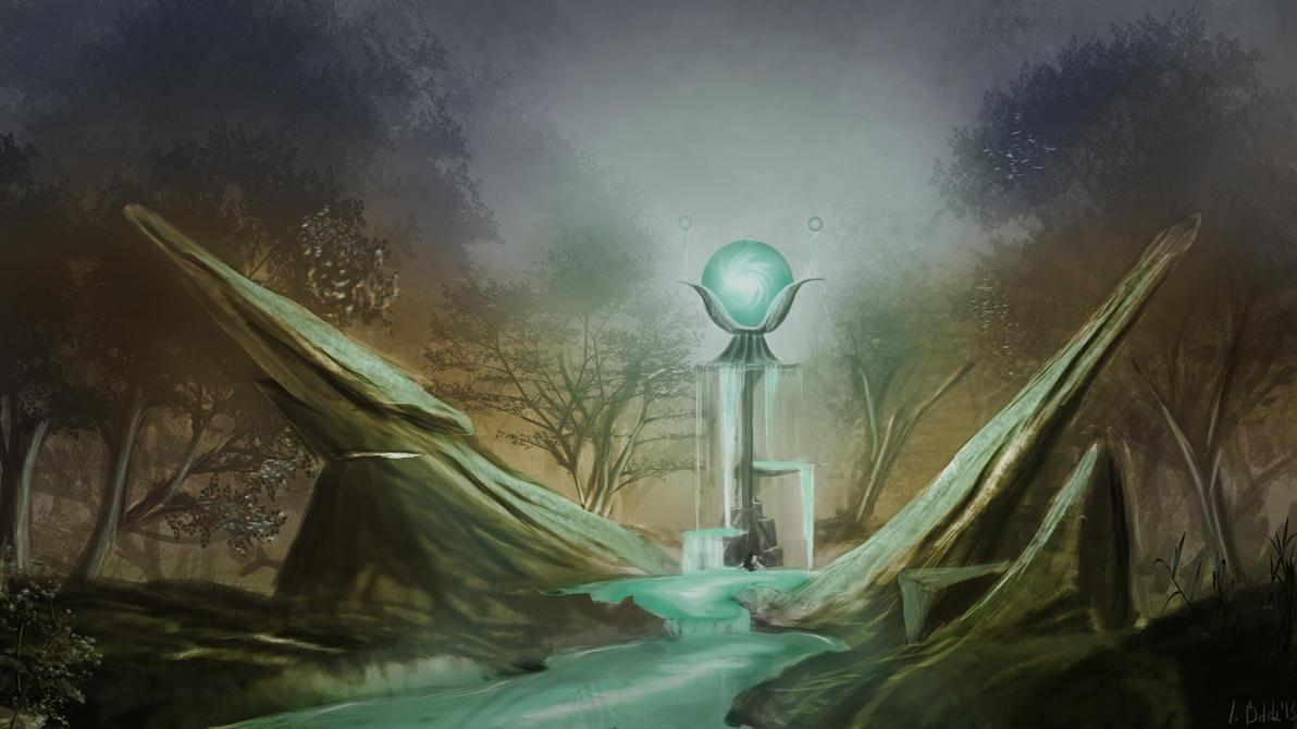 Magic Source by Axonnek