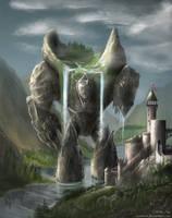 Elemental Contest - Golem by Axonnek
