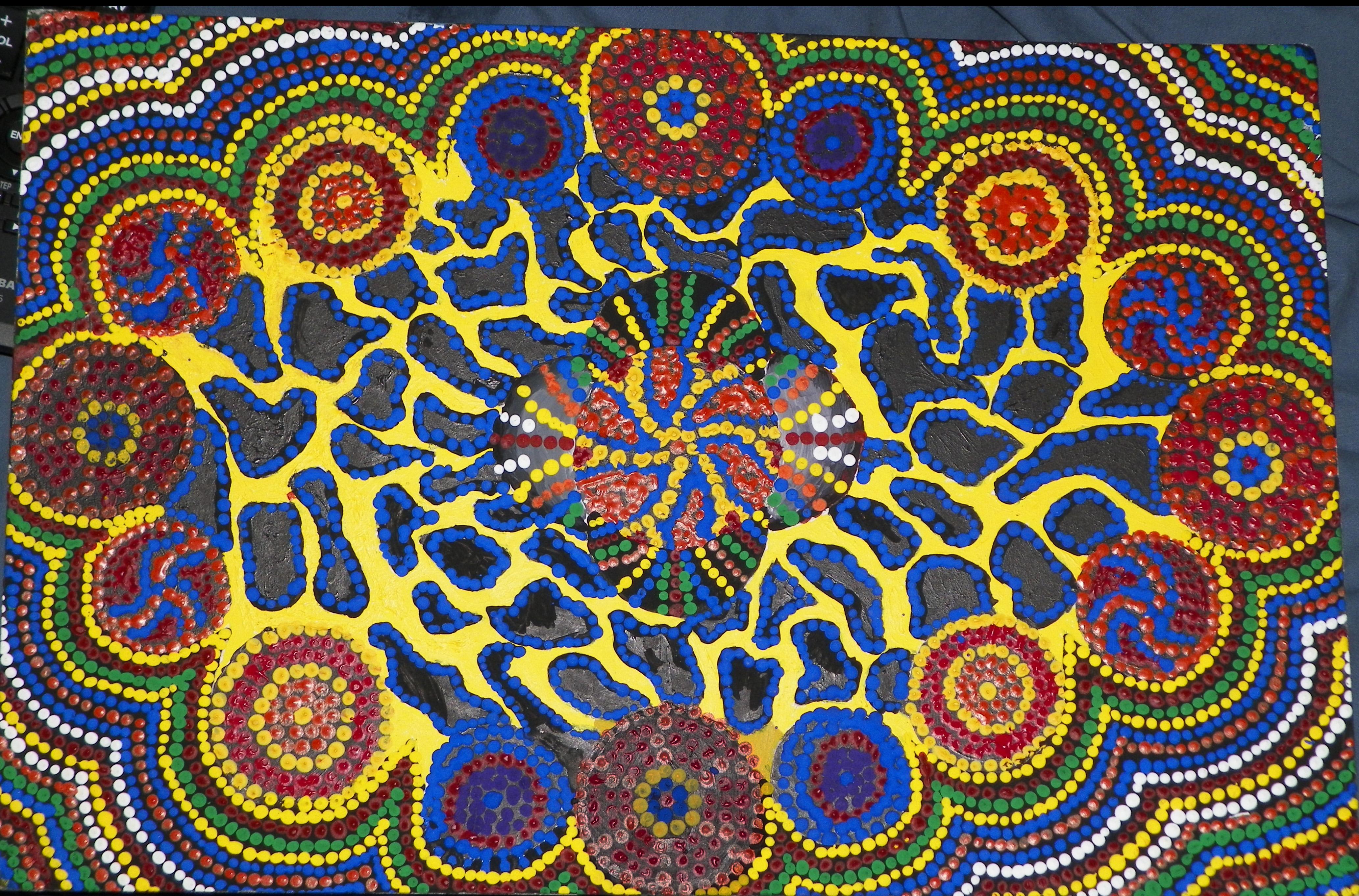 Aboriginal Design Wallpaper : Aboriginal art of australia by desperationanxiety on