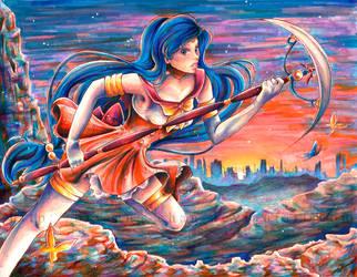 OC: Sailor Theia by BriannaAngelakis
