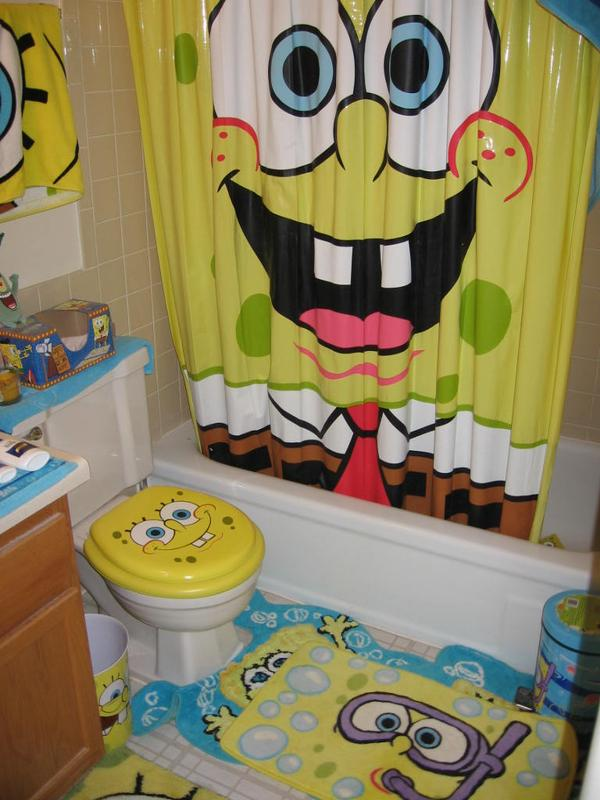 spongebob bathroom 1 by attitoonz on deviantart