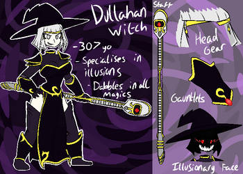 :Random OC: Dullahan Witch by Frazamatron