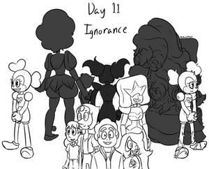 Inktober day 11 - Ignorance
