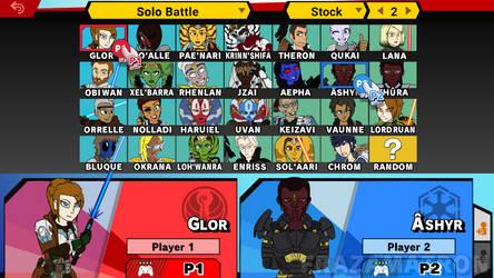 Glorfinniell's Smash Roster!