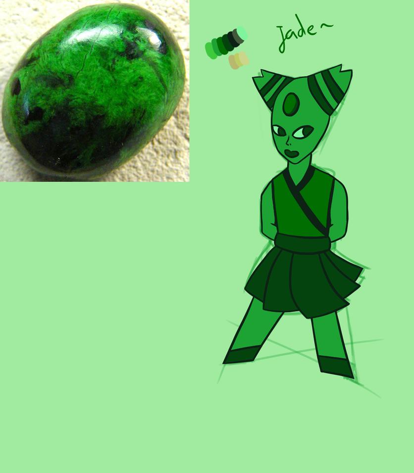 Jade ~ Gemsona by SkylordEzzy