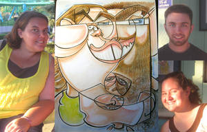 caricature- puzzle 3 2010 by chrisCHUA