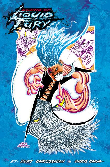 Legend of LIQUID FURY cover by chrisCHUA