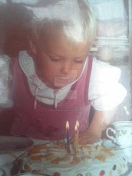 When I turned 3 years old