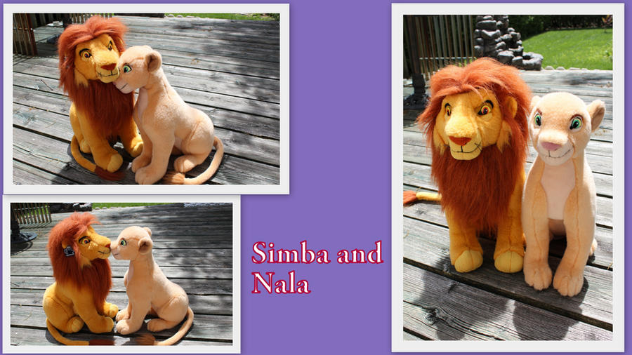 Adult Simba and Nala by Laurel-Lion