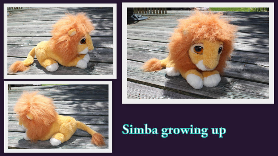 Simba growing up by Laurel-Lion