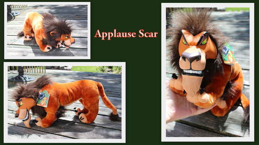 Applause Scar plush by Laurel-Lion