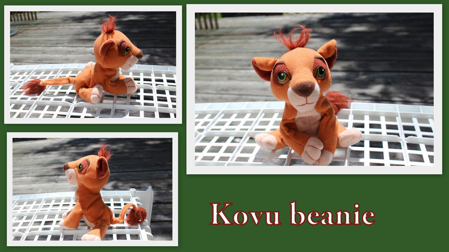 Kovu beanie by Laurel-Lion