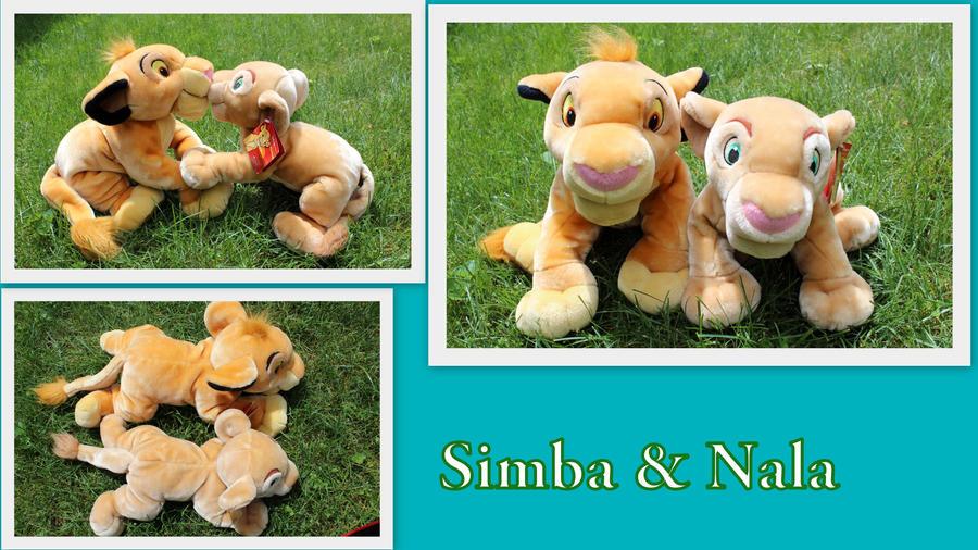 Disney Store Simba and Nala by Laurel-Lion
