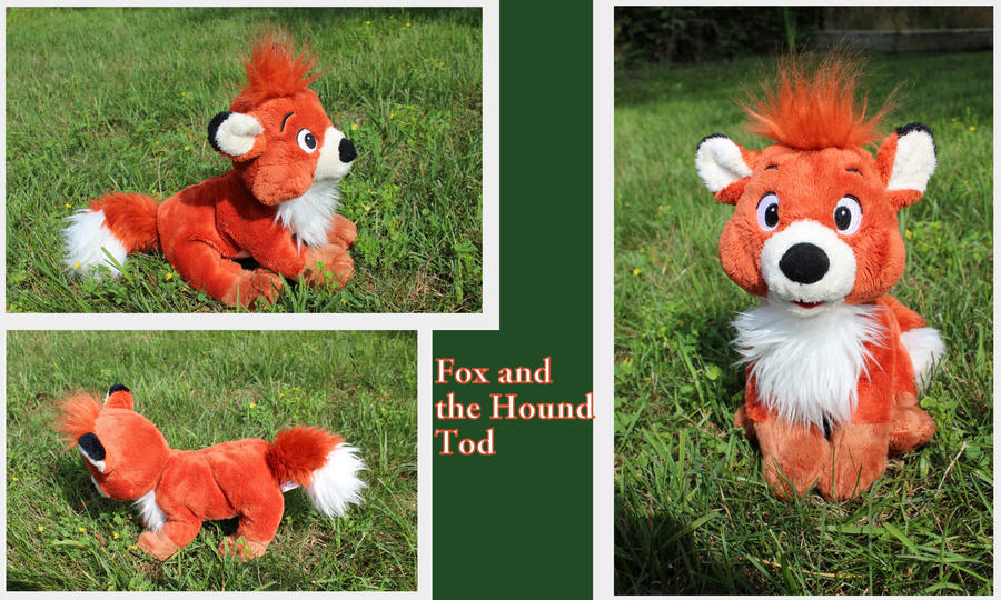 Tod plush by Laurel-Lion