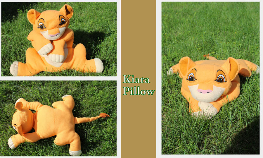 Kiara Pillow by Laurel-Lion
