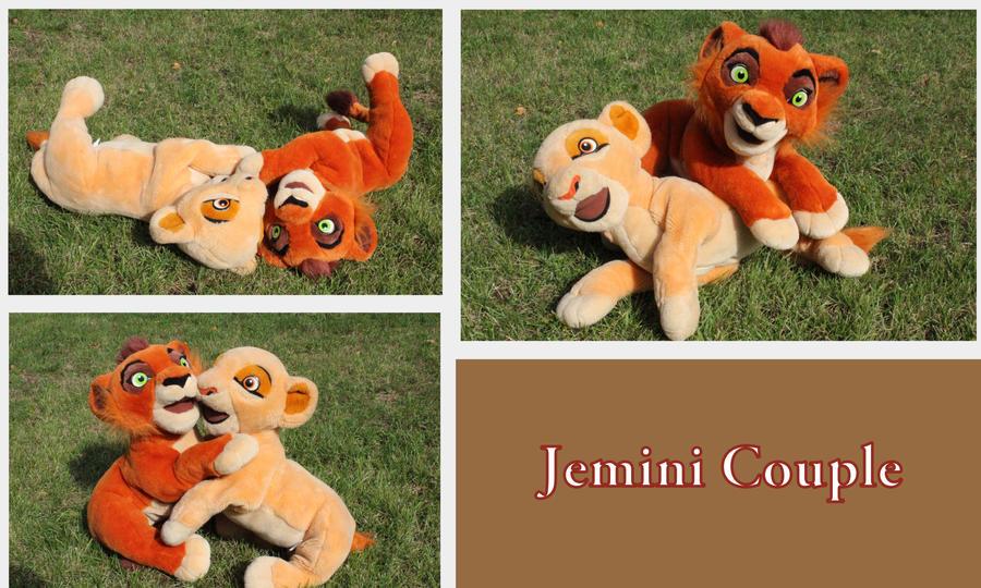 Jemini Couple by Laurel-Lion