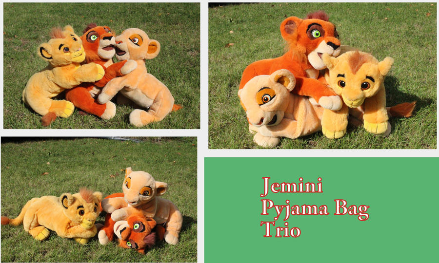 Jemini Trio by Laurel-Lion