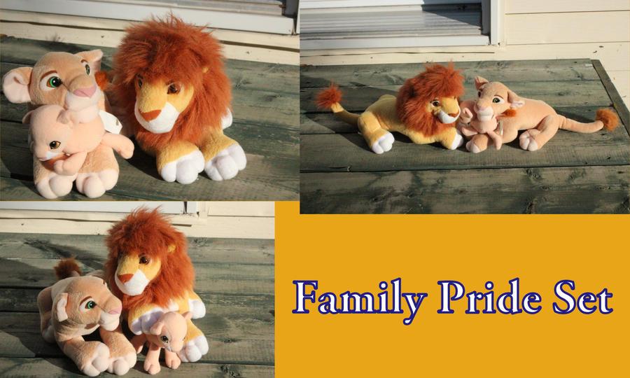 Family Pride Set by Laurel-Lion