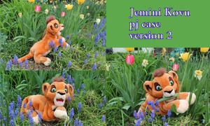 Jemini Kovu pyjama case version 2