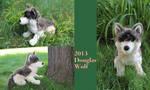 2013 wolf plush by Douglas