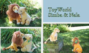 ToyWorld adult Simba and Nala