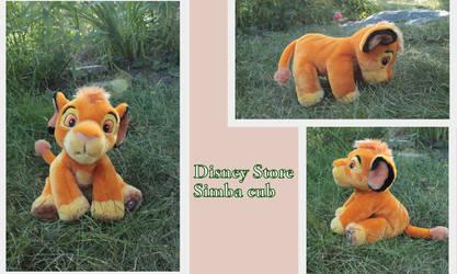 Disney Store Simba cub
