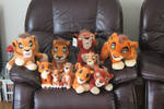 All my Kovu plushies
