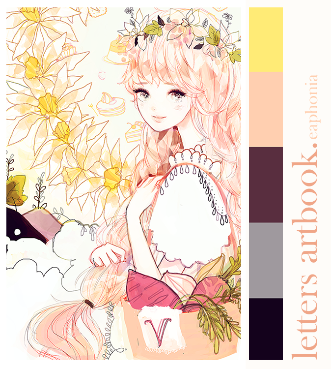 letters artbook preview by eaphonia