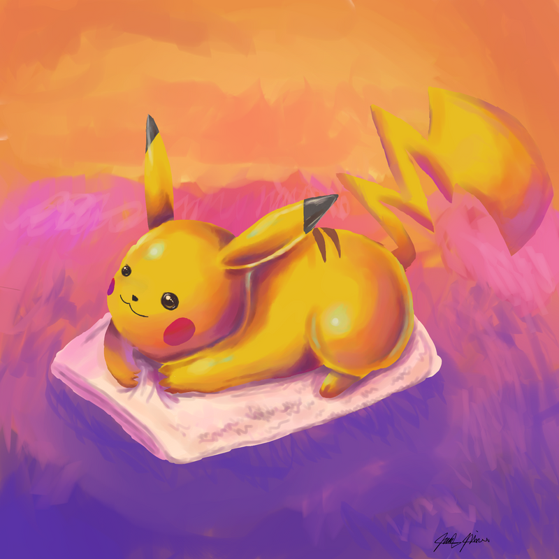 025 Pikachu by jmonkey2105