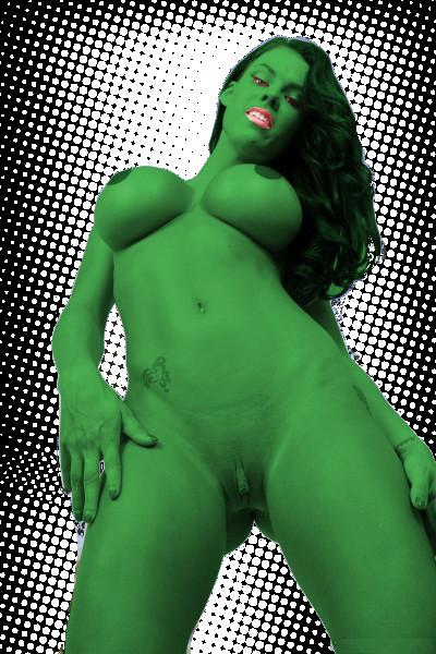 peta jensen She-Hulk by elneanderthal