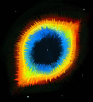 Ring or Helix Nebula.. sort of by An-Mochi