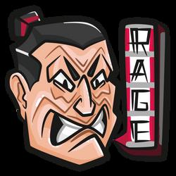 Rage \\ illustration #2