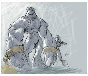 Chunk concept sketch by -adam-