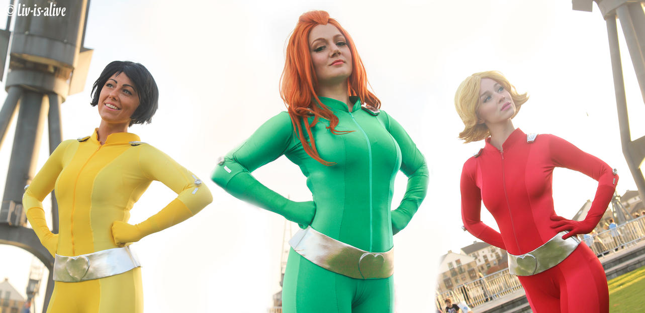 Not at all undercover by liv is alive on deviantart - Deguisement totally spies adulte ...
