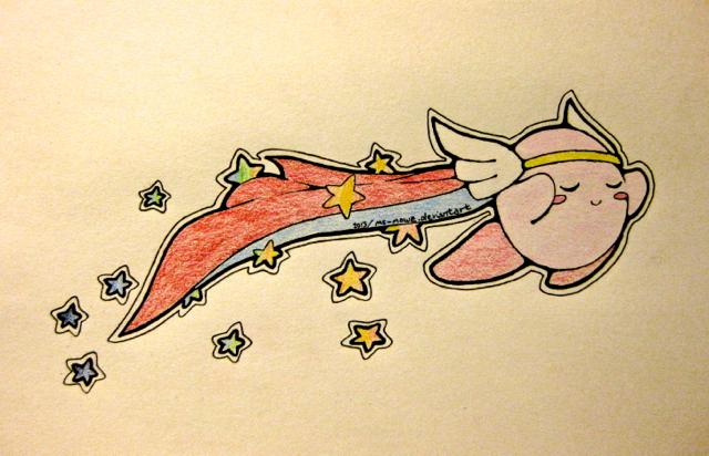 Hi-Jump Kirby by Ms-Mowz