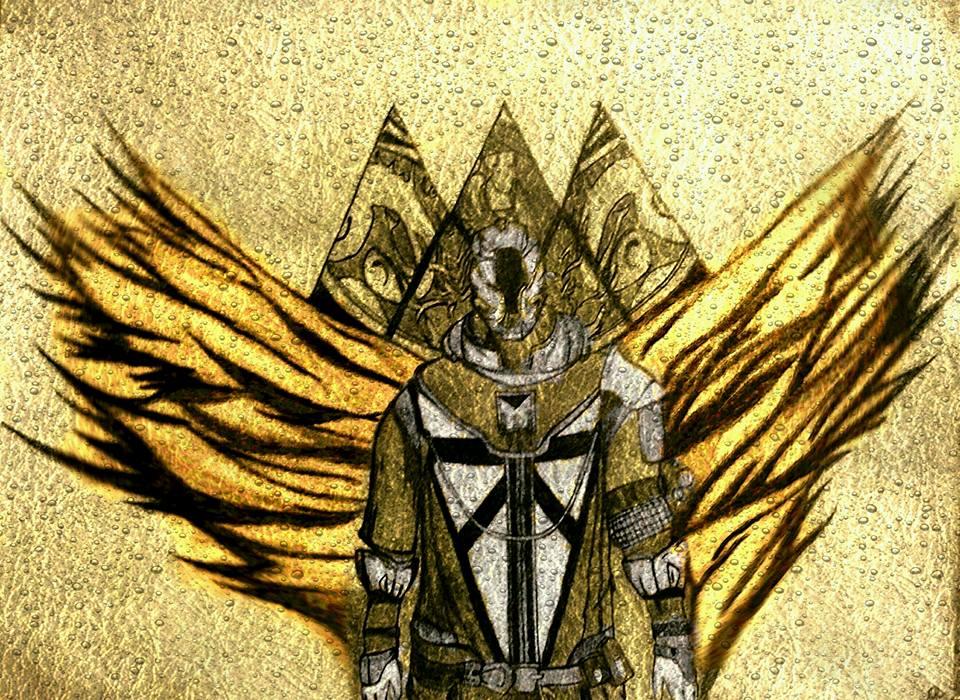 Warlock Sunsinger By Gallyman