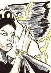 Storm Sketch card