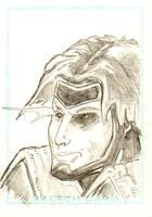 Gambit sketch card by JasonGodwin