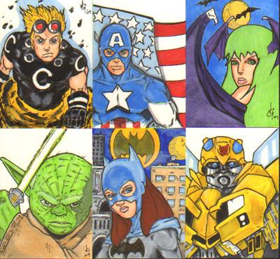 Sketch Cards by JasonGodwin