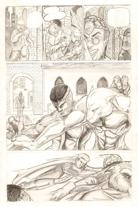 Monster Mash Page 1 by JasonGodwin