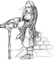 Female Dwarf by JasonGodwin