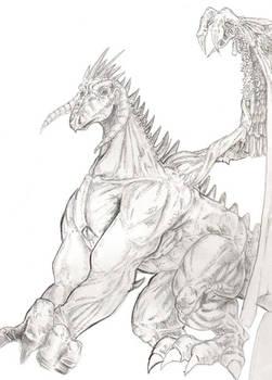 Gentle Dragon Concept