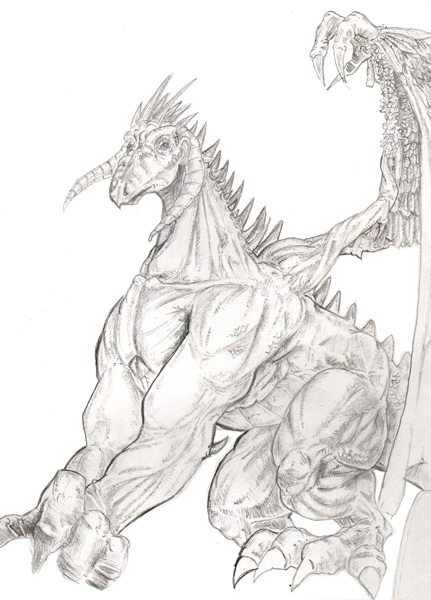 Gentle Dragon Concept by JasonGodwin