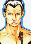 Namor sketch card