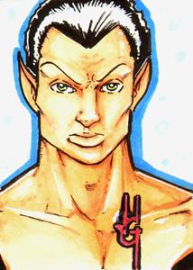 Namor sketch card by JasonGodwin