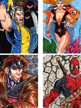Sketch Cards ...woot