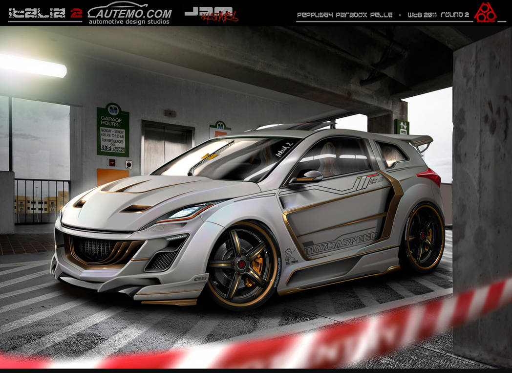 Mazda 3 wtb virtual tuning by peppus84