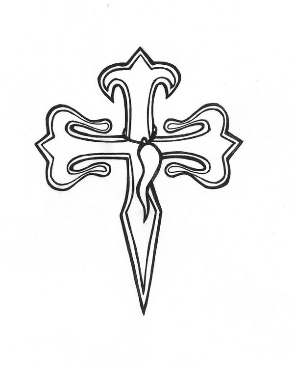 portuguese cross and by karadarkthorn on deviantart. Black Bedroom Furniture Sets. Home Design Ideas
