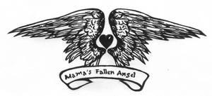 Mama's Fallen Angel by karadarkthorn