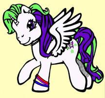 Grausig Pony by karadarkthorn